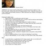 Interview Summaries